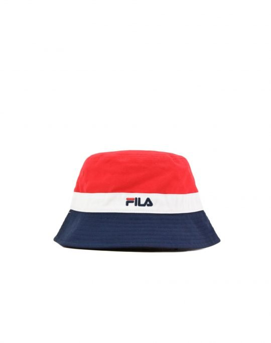 Fila Butler Bucket Hat (XS19BLK316-640) Red/Peacoat/White