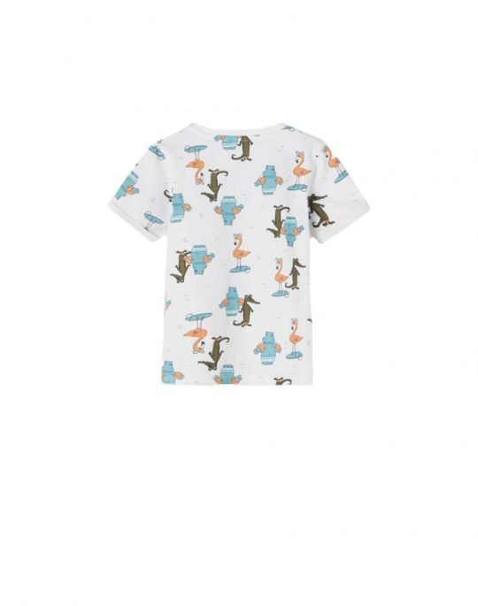 Name It Johan SS Top Camp (13187539) Bright White