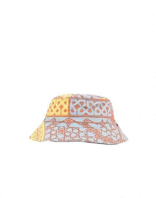 Obey Bandana Bucket Hat (100580267) Orange Bandana/White