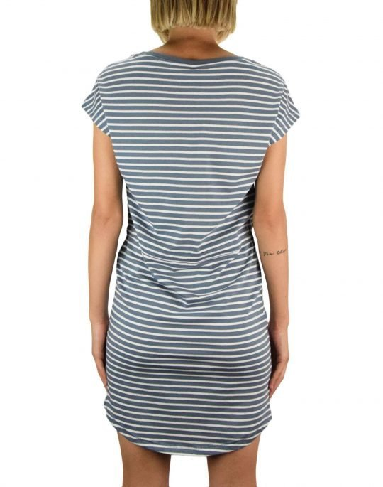 Only May Life Dress (15153021) Blue Mirage/Thin Stripes