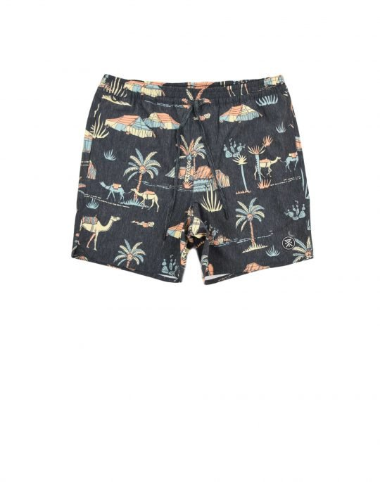 Roark Shorey Agafay Swim Shorts (RB355) Black