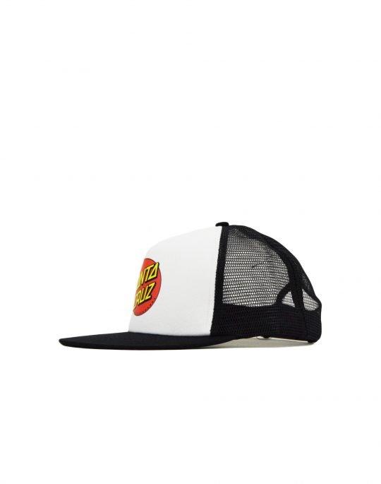 Santa Cruz Classic Dot Meshback Cap (SCSCA-CAP-0115) White