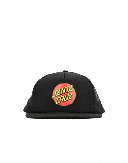 Santa Cruz Classic Dot Meshback Cap (SCSCA-CAP-0161) Black