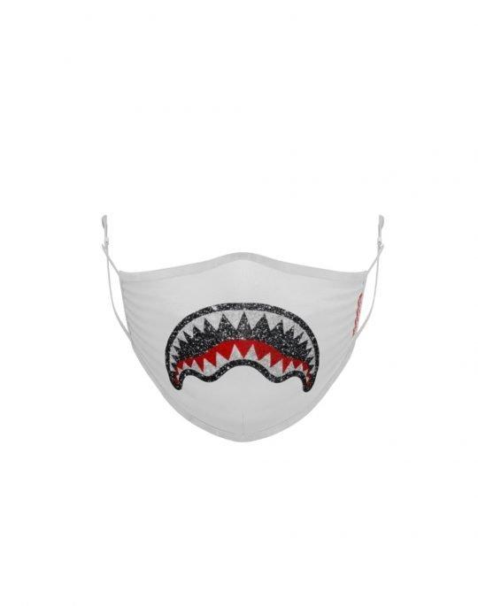 Sprayground Trinity 2.0 Face Mask (Z362) White