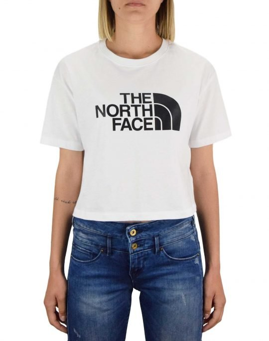 The North Face Cropped Easy Tee (NF0A4T1RFN41) White