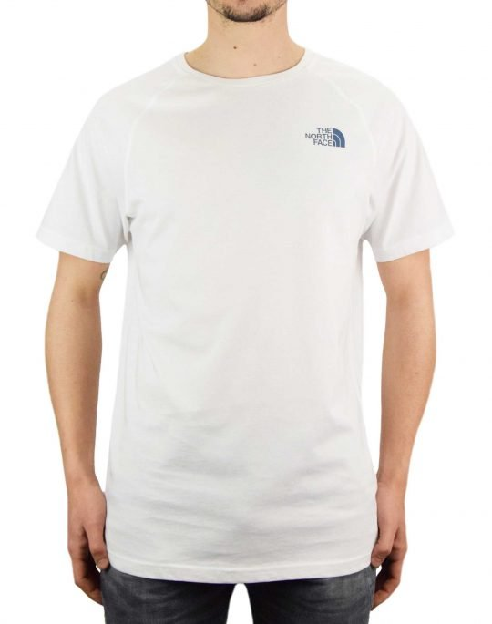 The North Face North Faces Tee (NF00CEQ80GT1) White/Vintage Indigo