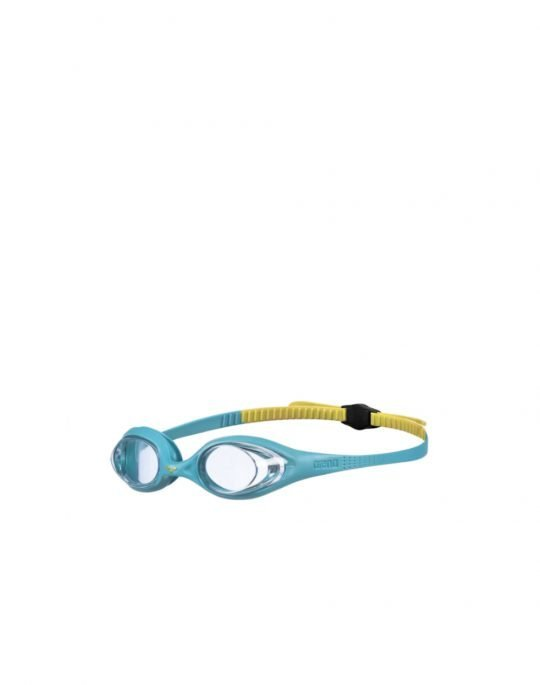 Arena Spider Junior 6-12 (92338173) Clear Mint/Yellow