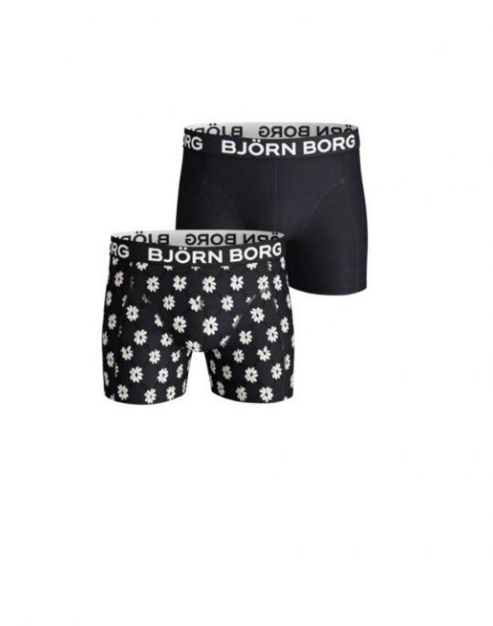 Bjorn Borg Sammy Flower Grid 2-Pack Boxer (2111-1068-72731) Night Sky