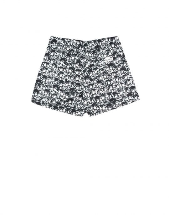 Boardies Skulls II Swim Shorts (BS734M) Black/White