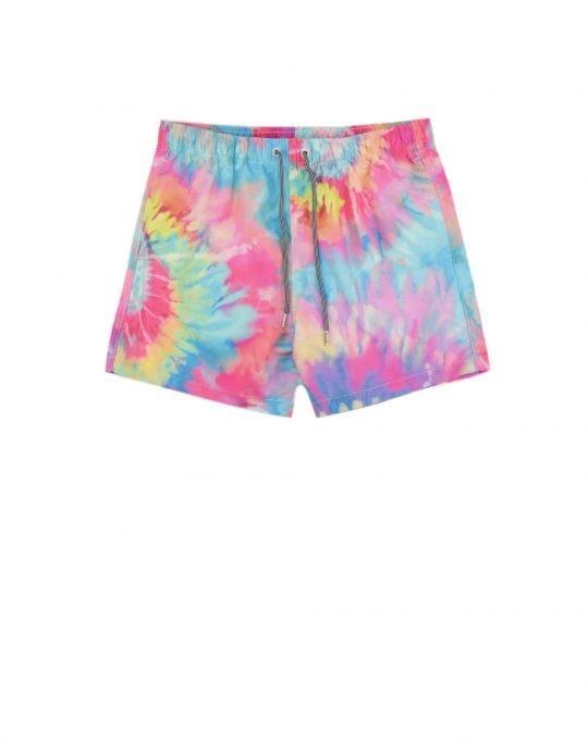 Boardies Spiral Tie Dye Swim Shorts (BS731M) Multi