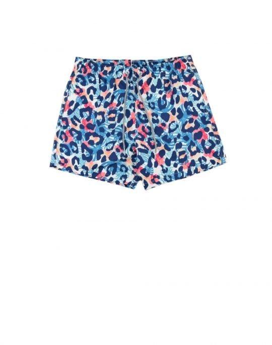 Boardies Tropical Cheetah Swim Shorts (BS732M) Multi
