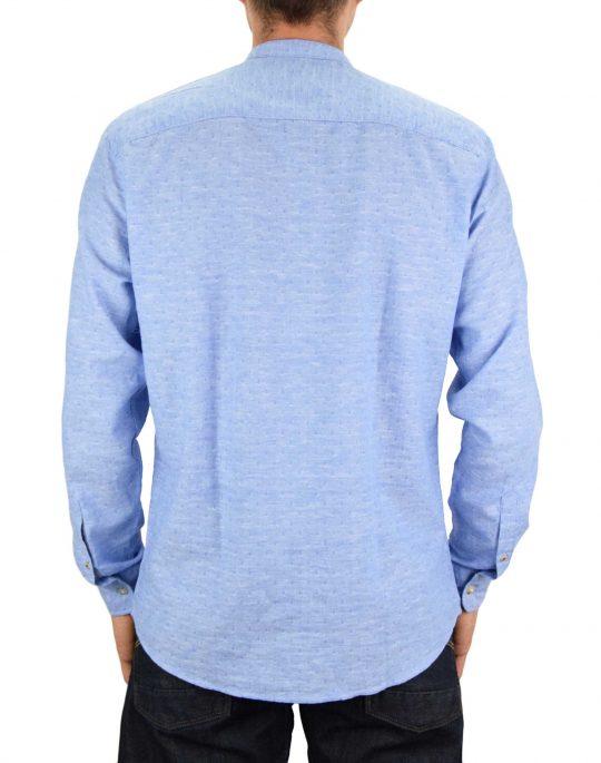 Jack & Jones Summer Kendrick Band Shirt (12187962) Faded Denim