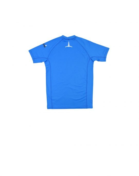 Musto Youth Insignia UV Tee (80802-560) Brilliant Blue