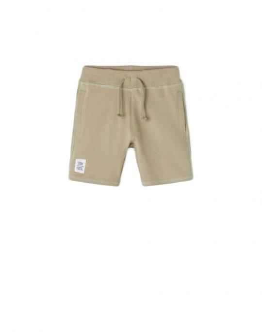 Name It James Light Sweat Long Shorts (13190420) Silver Sage