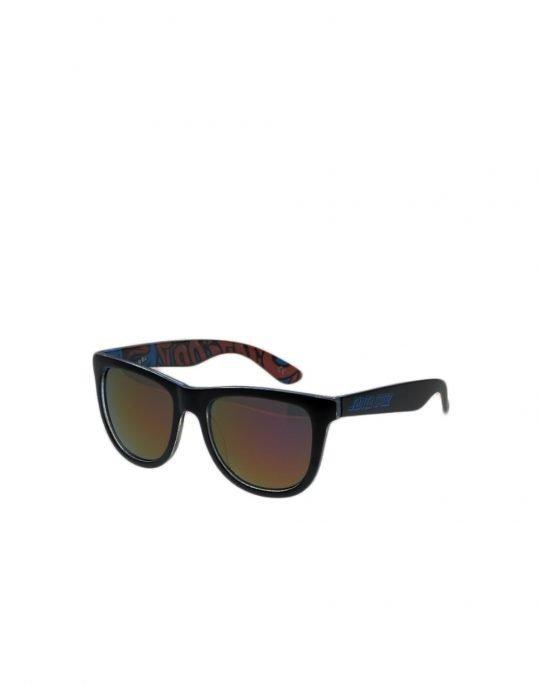 Santa Cruz Screaming Insider Sunglasses (SCSCA-SUN-0106) Black Blue
