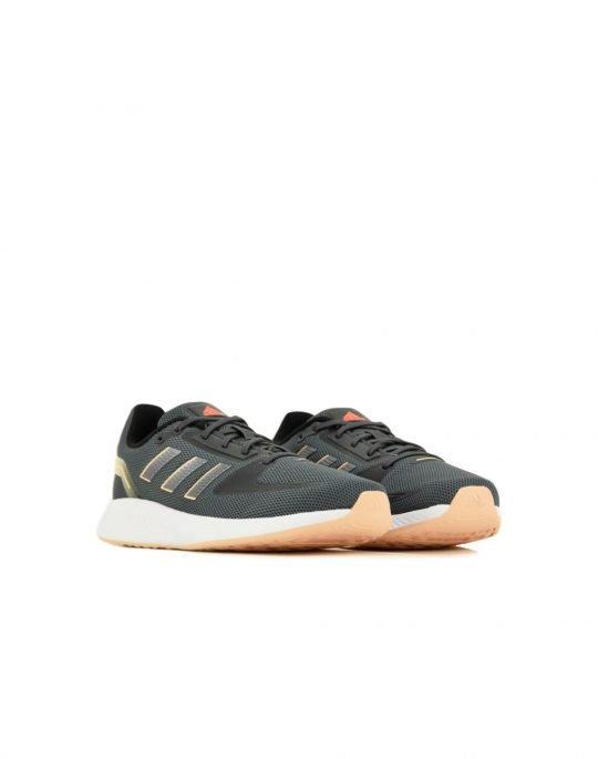 Adidas Runfalcon 2.0 (H04519) Grey Six/Iron Metallic/Solar Red