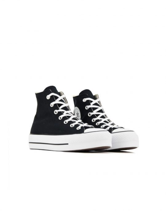 Converse Chuck Taylor All Star Lift Hi (560845C) Black/White/White