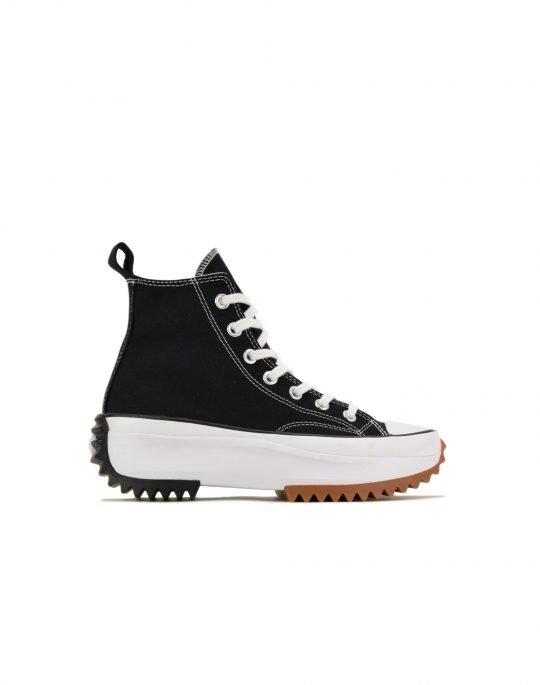 Converse Run Star Hike Hi (166800C) Black/White/Gum