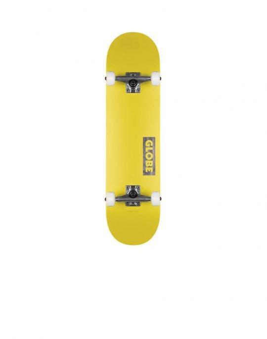 Globe Goodstock 7.75 Complete Skate (GB10525351) Neon Yellow
