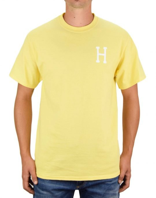Huf Essentials Classic Tee (TS01048) Washed Yellow