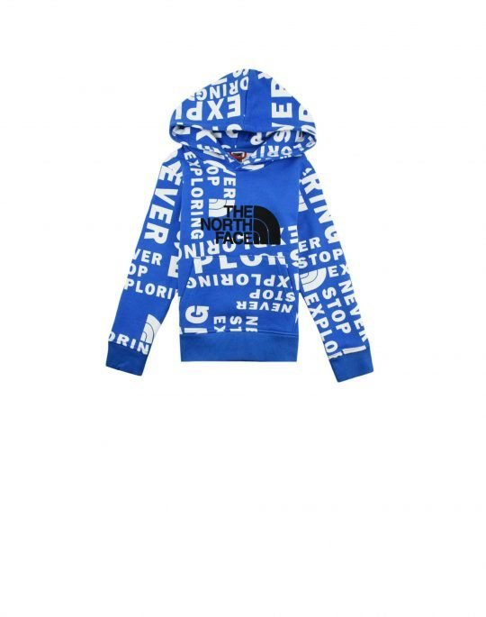 The North Face Drew Peak Pullover H/D Youth Hoodie (NF0A33H4T4S1) Hero Blue