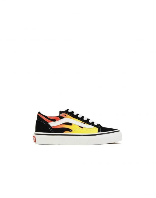 Vans Old Skool K (VN0A5AOAXEY1) Flame/Black/True White