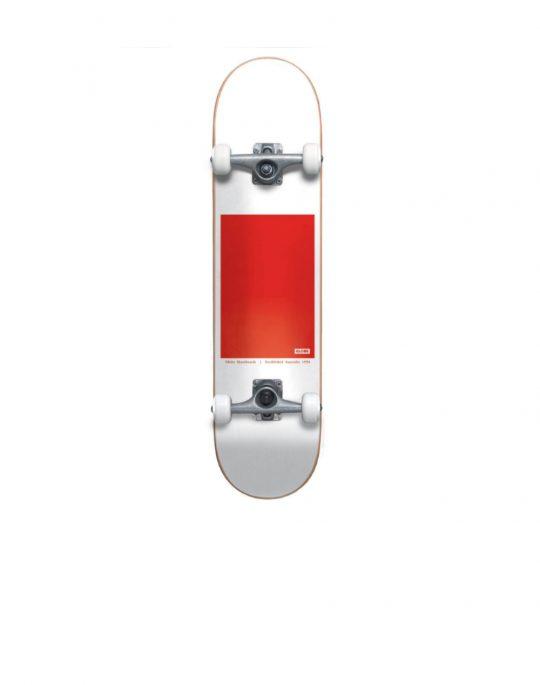 Globe G0 Block Serif 8.0 Complete Skate (GB10525401) White/Red