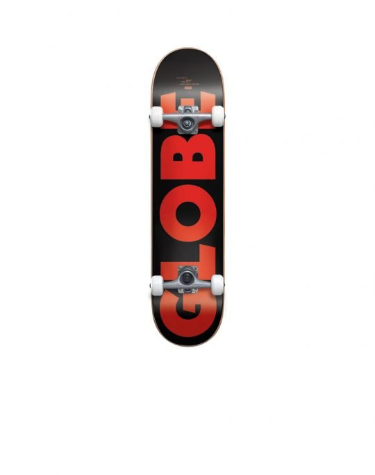 Globe G0 Fubar 7.75 Complete Skate (GB10525402) Black/Red