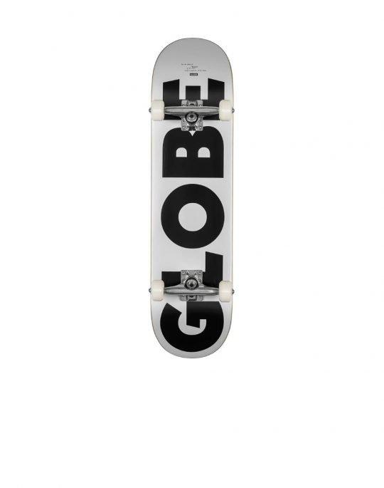 Globe G0 Fubar 8.0 Complete Skate (GB10525402) White/Black
