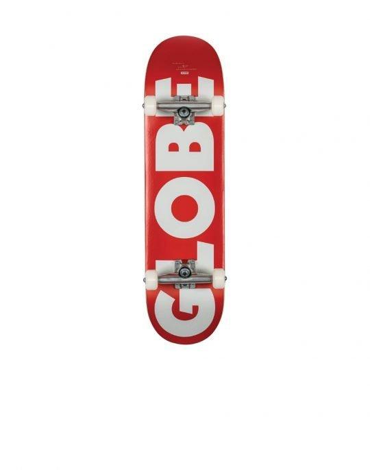Globe G0 Fubar 8.25 Complete Skate (GB10525402) Red/White