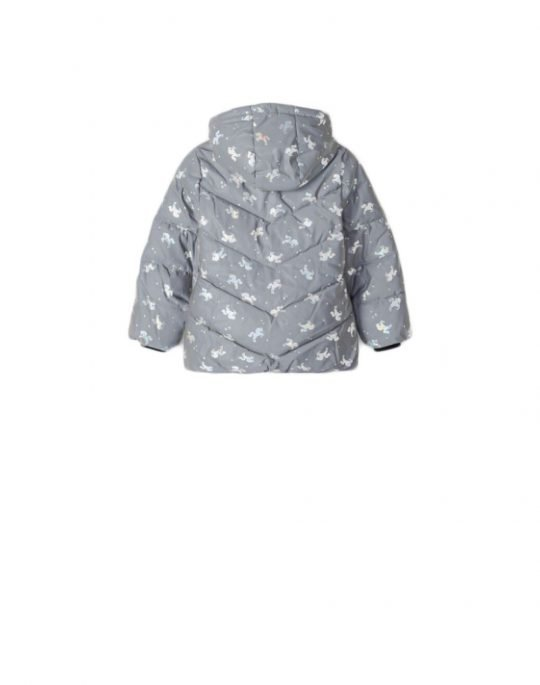 Name It Maya Reflective Jacket (13192486) Frost Grey