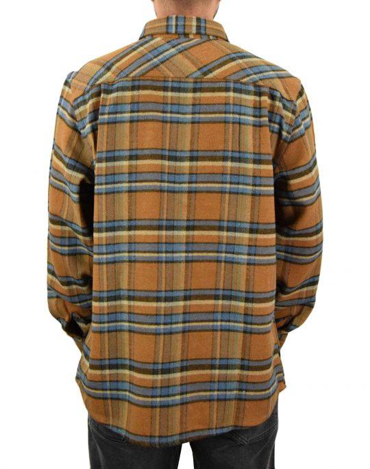 Brixton Bowery Flannel Shirt (01213 LION) Lion