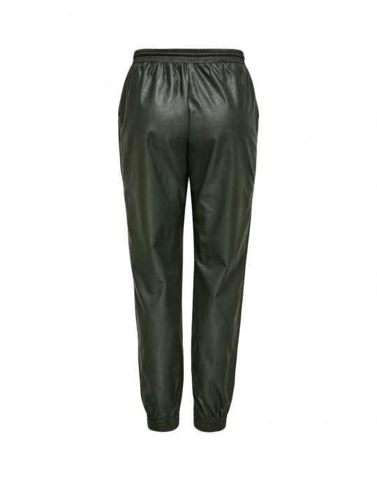 Only Mady Faux Leather Pant (15232377) Peat