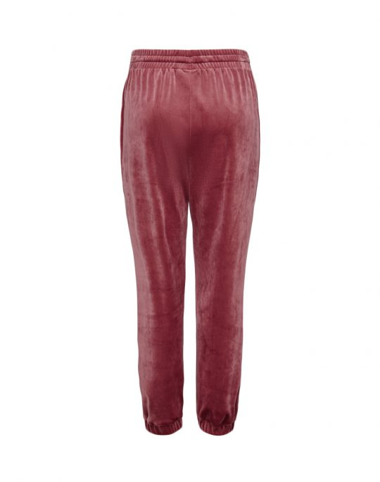 Only Rebel Cuff Pant (15244719) Oxblood Red
