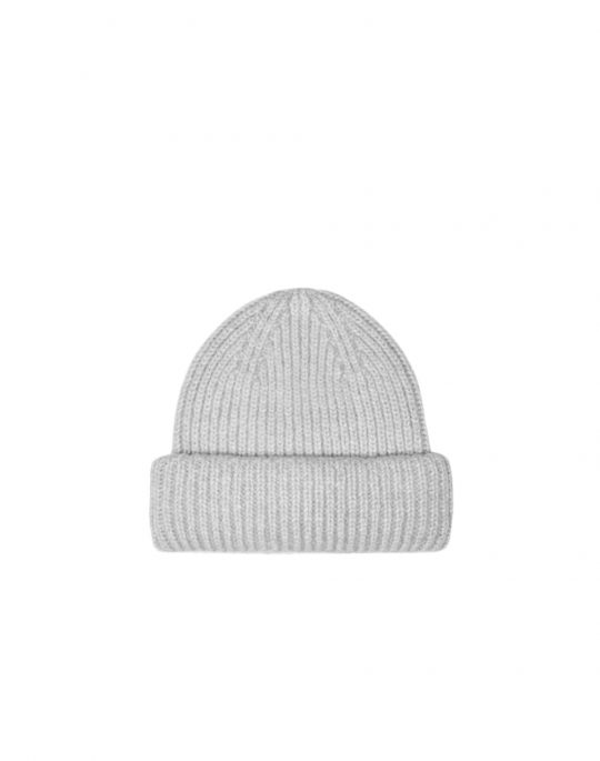 Only Sussy Life Knit Beanie (15233749) Light Grey Melange